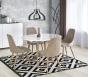 Кухонный стол Halmar Edward (белый/дуб сан ремо)