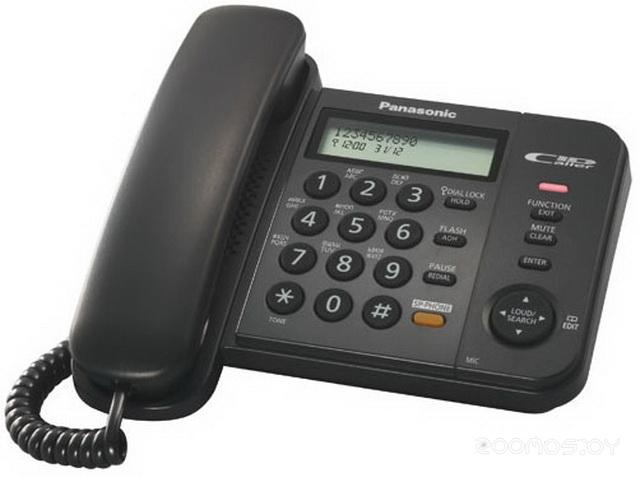 Проводной телефон Panasonic KX-TS2356 B