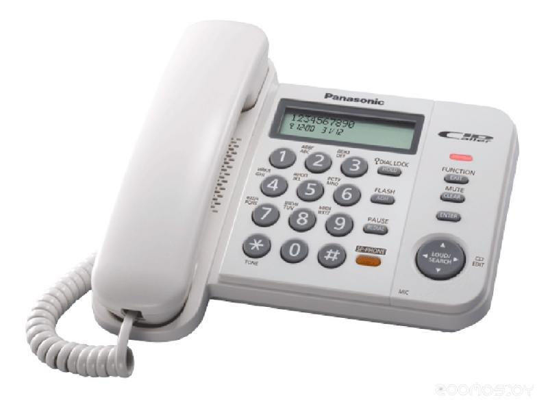 Проводной телефон Panasonic KX-TS2358 W