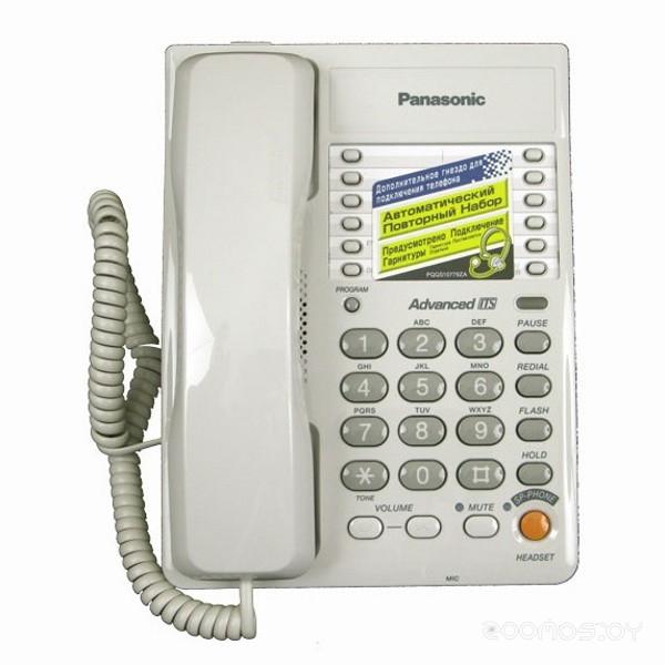 Проводной телефон Panasonic KX-TS2363 W