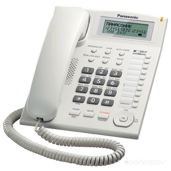 Проводной телефон Panasonic KX-TS2388 W
