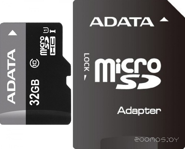 Карта памяти GoodRAM microSD Class 10 UHS I (32 Gb) + adapter