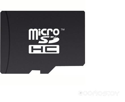 Карта памяти Mirex microSDHC Class 4 + SD adapter (2 Gb)