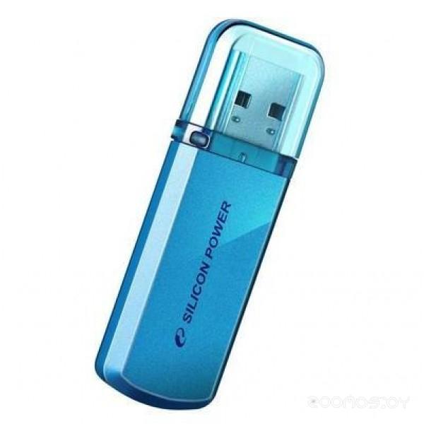 USB Flash Silicon Power Helios 101 Blue 16Gb