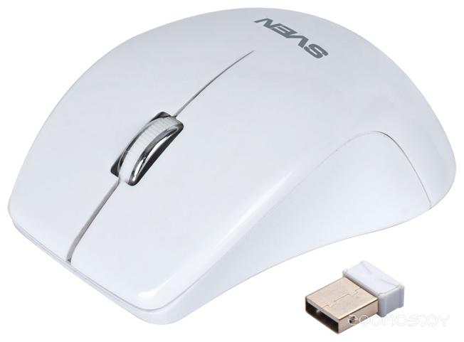 Мышь Sven RX-610 Wireless White USB