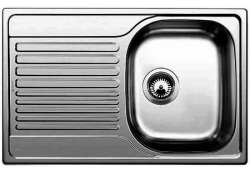 Blanco Tipo 45S Compact матовый хром