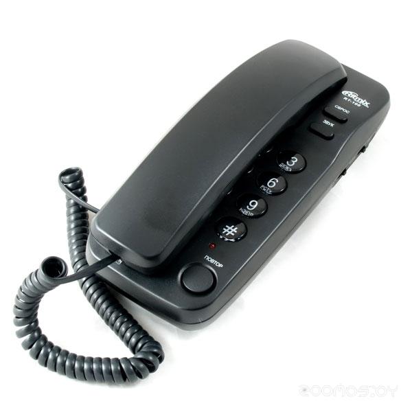 Проводной телефон Ritmix RT-100 black