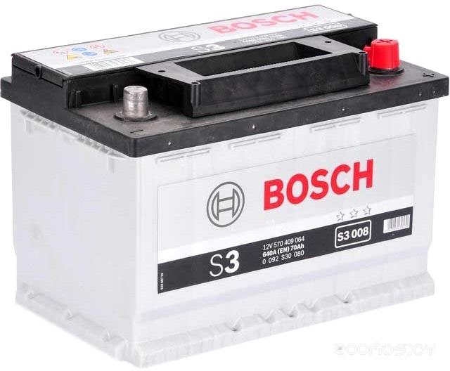 Автомобильный аккумулятор Bosch S3 008 570 409 064 (70 А/ч)