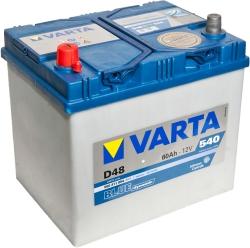 Varta Blue Dynamic D48 560 411 054 (60 А/ч)