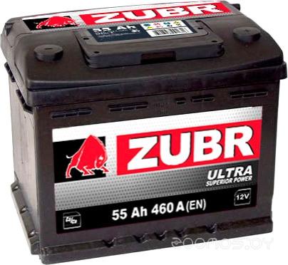 Автомобильный аккумулятор ЗУБР Ultra (90 А/ч)
