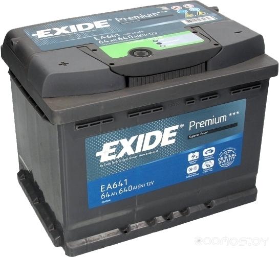 Автомобильный аккумулятор Exide Excell EA641 (64 А/ч)