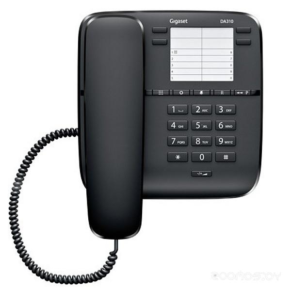 Проводной телефон Gigaset DA310 black