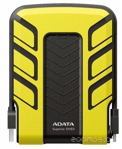 Внешний жёсткий диск A-Data DashDrive Durable HD710 1TB Yellow