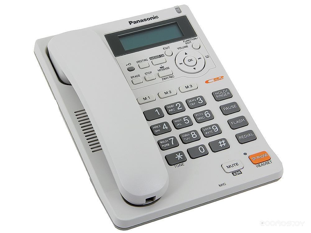 Проводной телефон Panasonic KX-TS2570 W