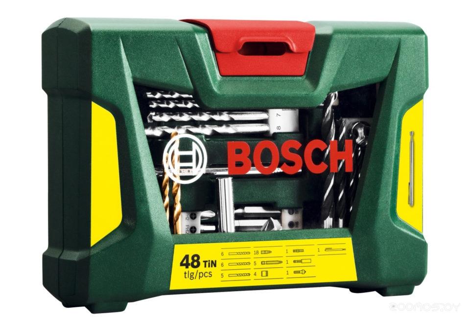 Универсальный набор Bosch V-Line Titanium 2607017314 48 предметов