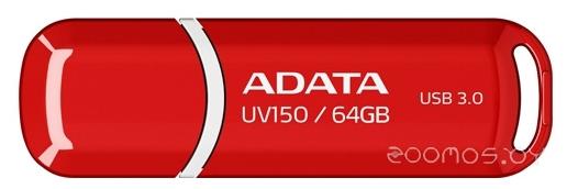 USB Flash A-Data DashDrive UV150 64Gb (Red)