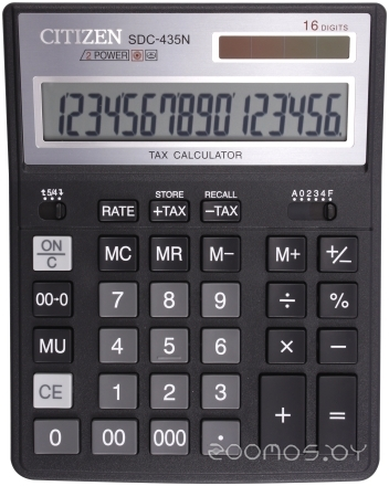 Калькулятор CITIZEN CI-SDC435N