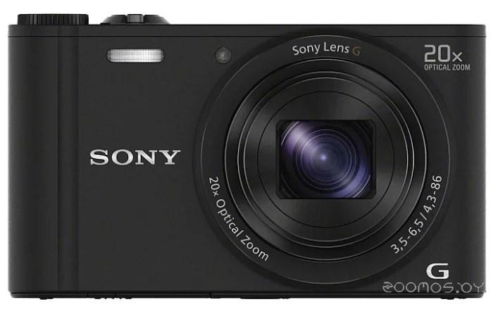 Цифровая фотокамера Sony Cyber-shot DSC-WX350 black