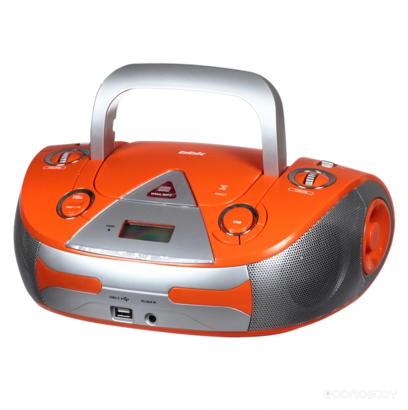 Магнитола BBK BX325U orange/silver