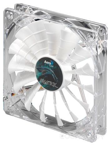 AEROCOOL Shark Fan White Edition 12cm