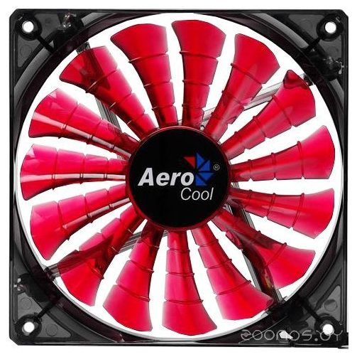 Кулер AEROCOOL Shark Fan Devil Red Edition 14cm
