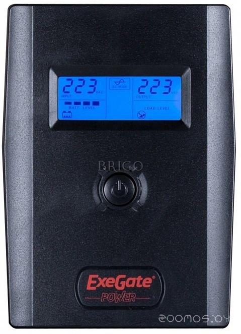 Источник бесперебойного питания Exegate Power Smart ULB-600 LCD