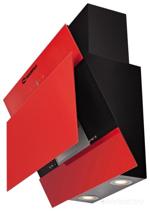 Вытяжка Maunfeld TOWER Lux красный