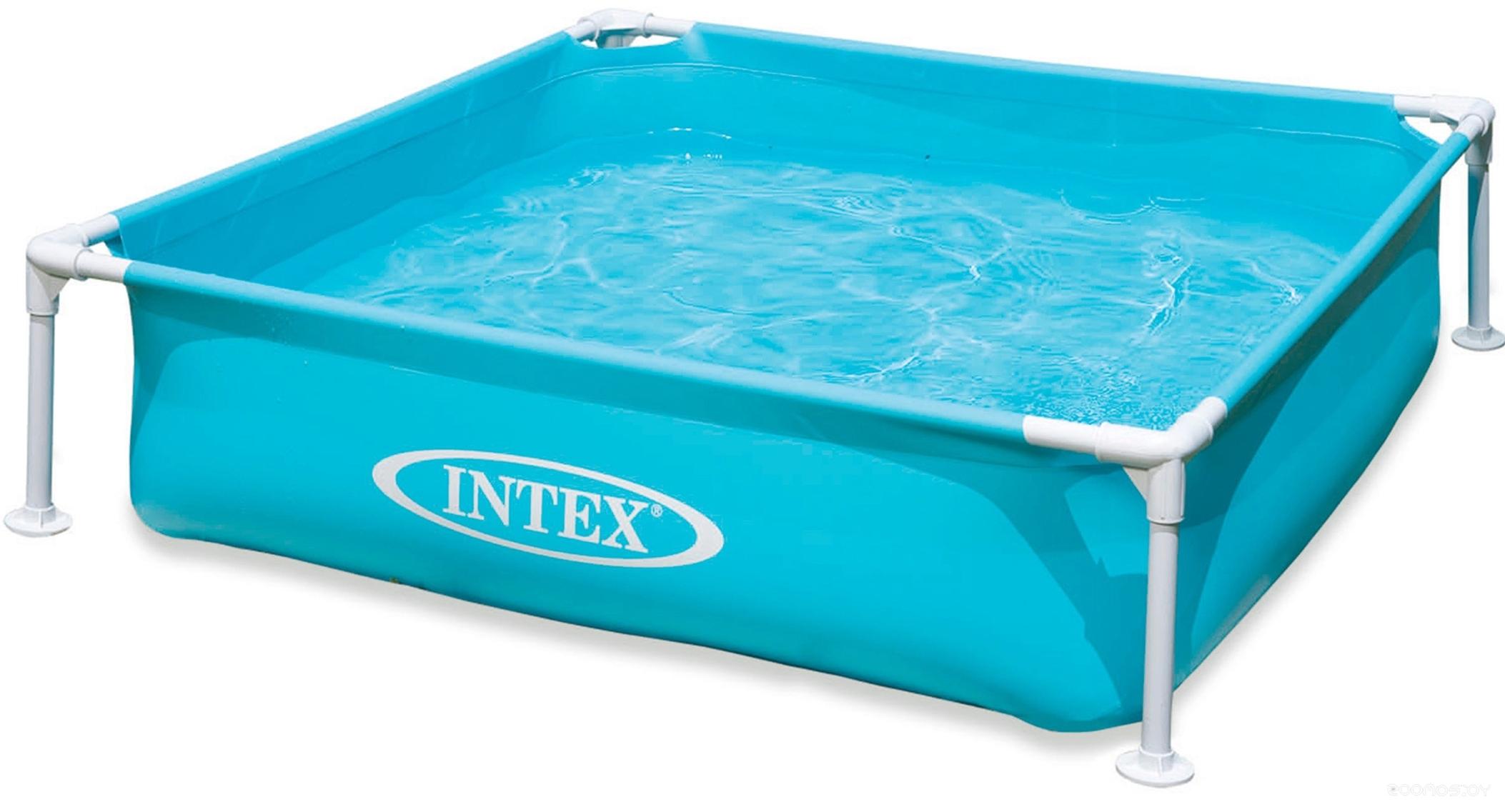 Бассейн INTEX Mini Frame 122х122х30 (57173NP)