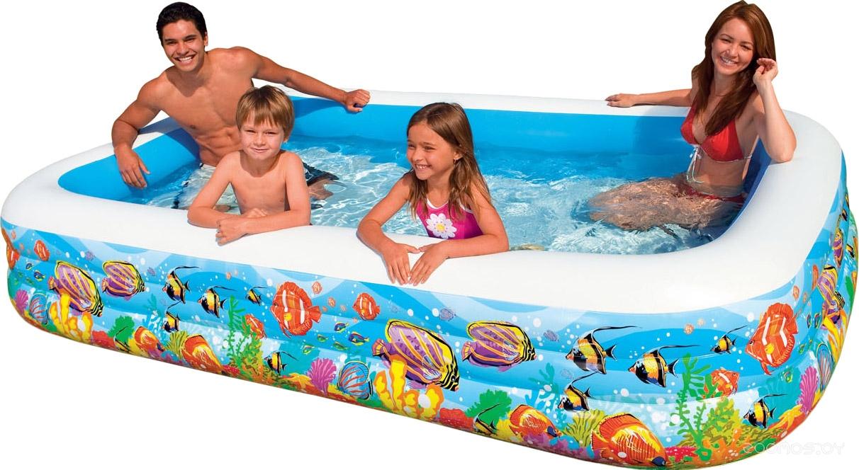 Бассейн INTEX Swim Center Tropical Reef 305x183x56 (58485)