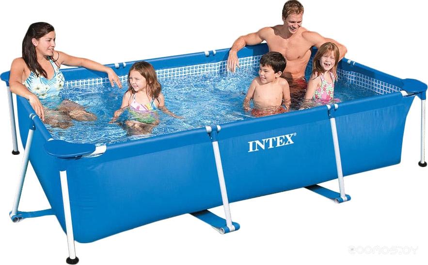 Бассейн INTEX Rectangular Frame 300x200x75 (58981/28272)