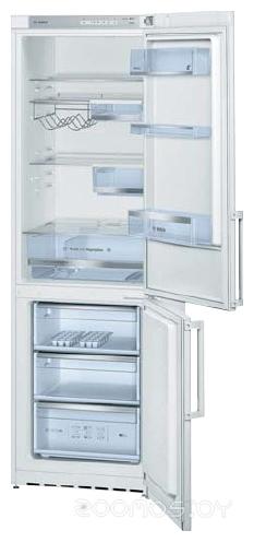 Холодильник с нижней морозильной камерой Bosch KGV36XW20R
