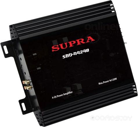 Автомобильный усилитель Supra SBD-A4240