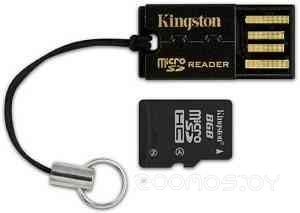 Карт-ридер Kingston USB microSD/microSDHC Reader (FCR-MRG2)