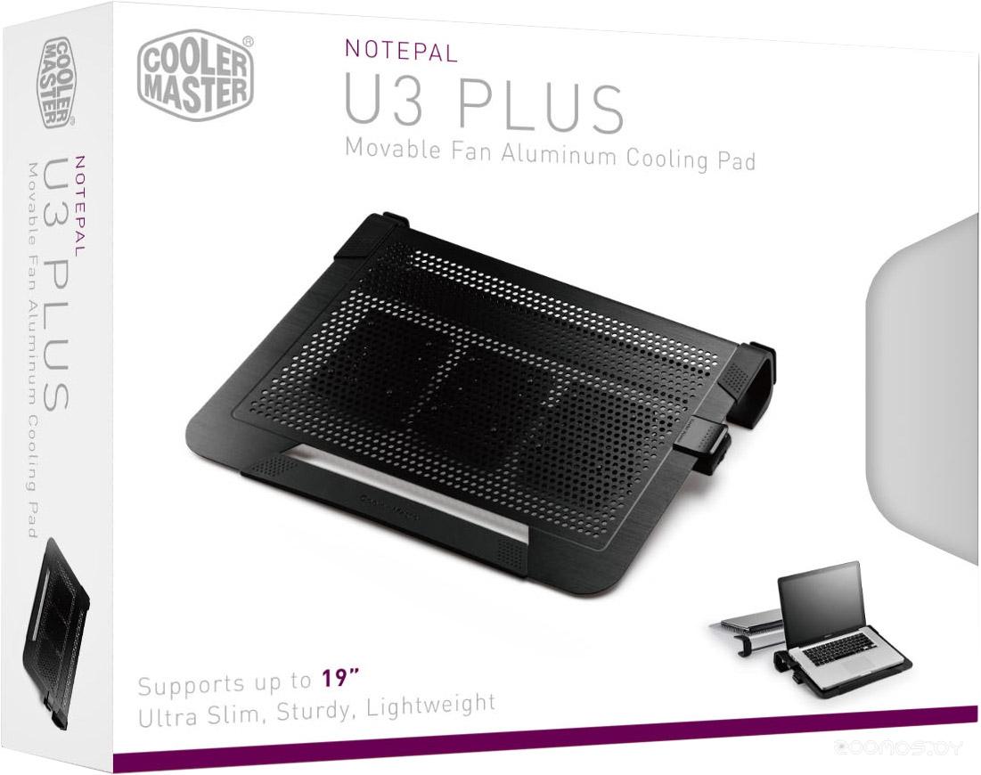 Подставка для ноутбука Cooler Master NotePal U3 Plus (R9-NBC-U3PK-GP)