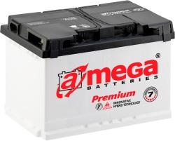 A-mega Premium 6СТ-75-А3 R low (75 А/ч)