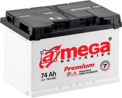 A-mega Premium 6СТ-74-А3 R (74 А/ч)