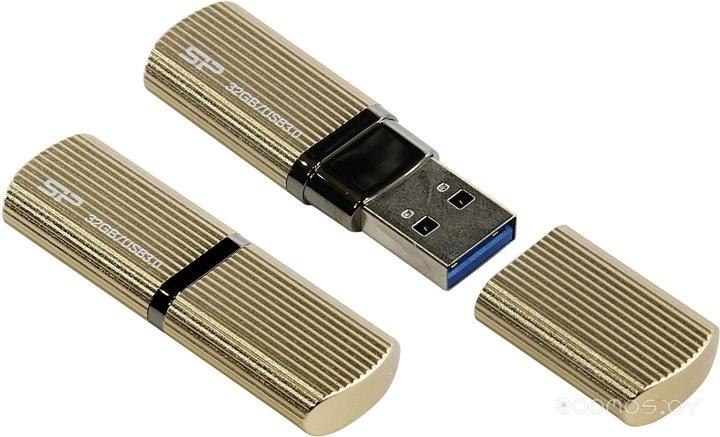 USB Flash Silicon Power Marvel M50 Champagne 32GB