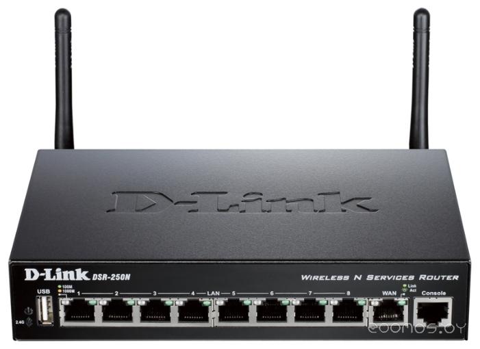 Беспроводной маршрутизатор D-LINK DSR-250N