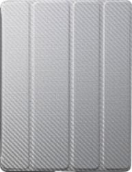 Cooler Master iPad Wake Up Folio Carbon Texture Silver White (C-IP3F-CTWU-SS)