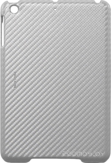 Бампер Cooler Master iPad mini Carbon Texture Silver/White (C-IPMC-CTCL-SS)