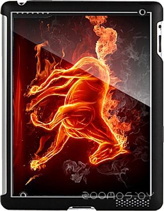 Бампер Stikk Огненный конь для iPad 2 (SYT067)