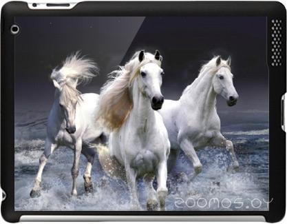Чехол для планшета Stikk Белые лошади для iPad 2 (SYT290)