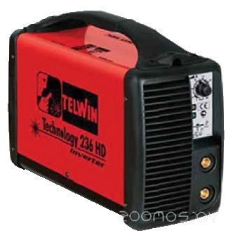 Сварочный инвертор Telwin Technology 236 HD 230V ACX