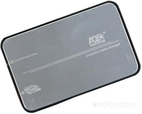Бокс для жесткого диска Agestar 3UB2A8-6G Silver