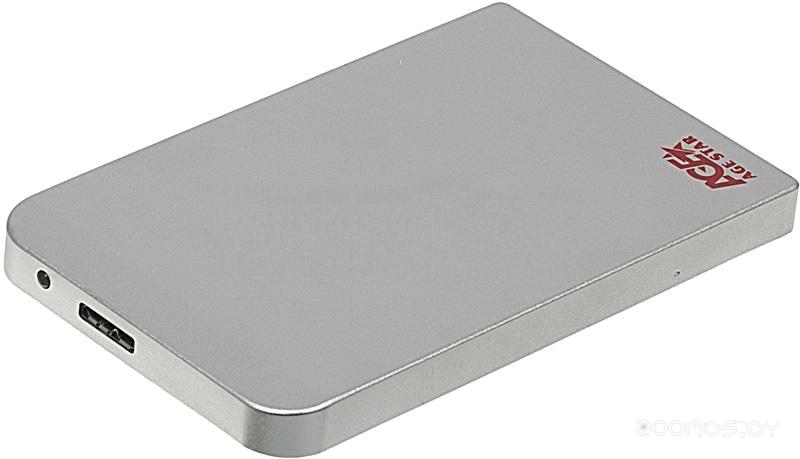 Бокс для жесткого диска Agestar 3UB2O1 Silver