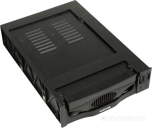 Бокс для жесткого диска Agestar SR3P-SW-1F Black