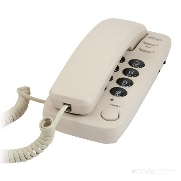 Проводной телефон Ritmix RT-100 (Ivory)