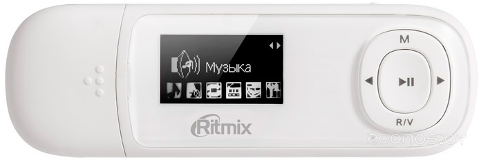 MP3-плеер Ritmix RF-3450 8Gb (White)