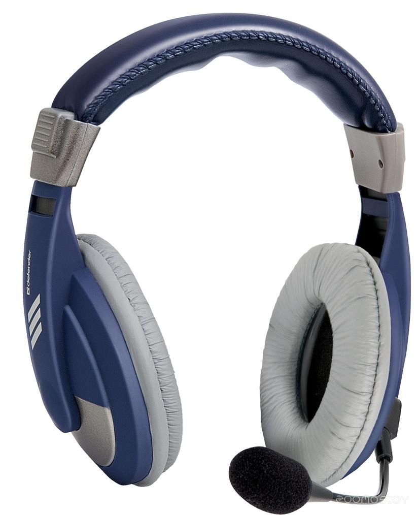 Компьютерная гарнитура Defender HN-750 (Blue)