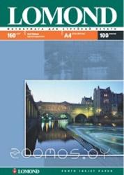 Фотобумага LOMOND Матовая A4 160 г/кв.м. 100 листов (0102005)